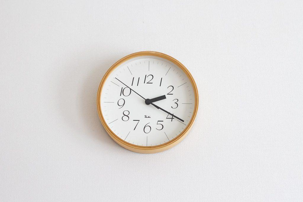 渡辺力さんデザインの「RIKI CLOCK」を購入