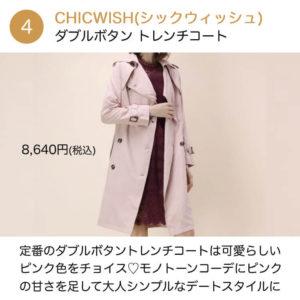 CHICWISH(シックウィッシュ)のおすすめ商品